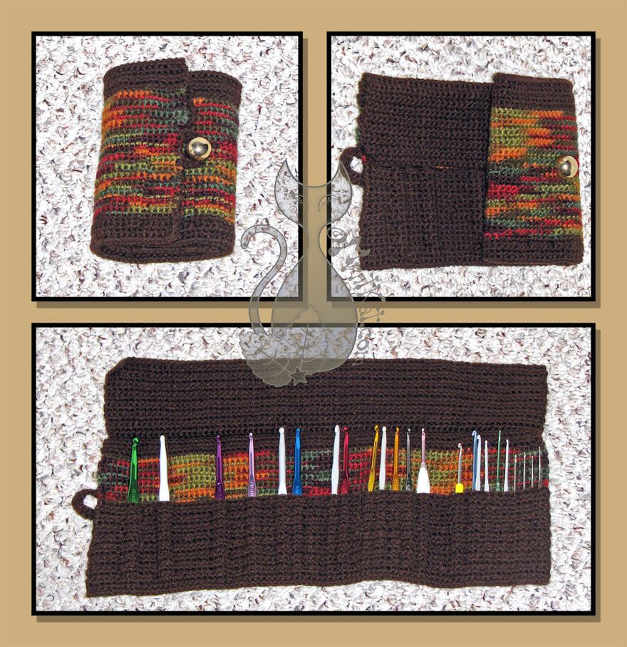 Crochet Hook organizer Luxury Crochet Hook organizer by Myntkat On Deviantart Of Brilliant 43 Photos Crochet Hook organizer