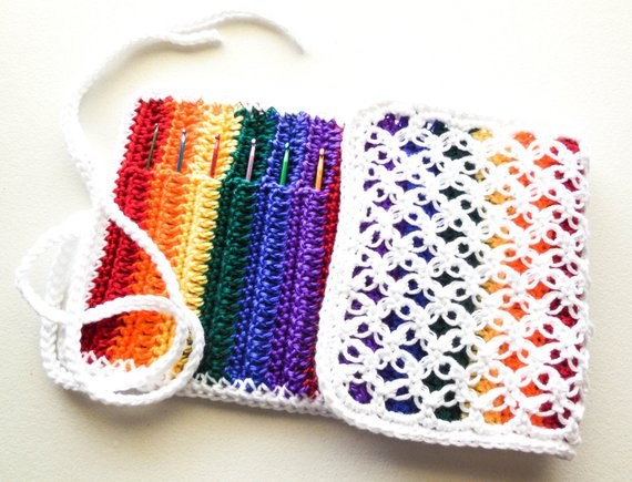 Crochet Hook organizer Luxury Rainbow Crochet Hook organizer Crochet Hooks Available Of Brilliant 43 Photos Crochet Hook organizer