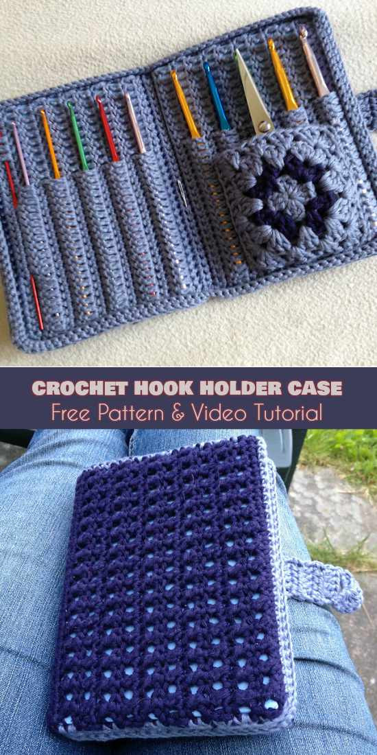 Crochet Hook organizer New Crochet Hook Holder Case Free Pattern Of Brilliant 43 Photos Crochet Hook organizer