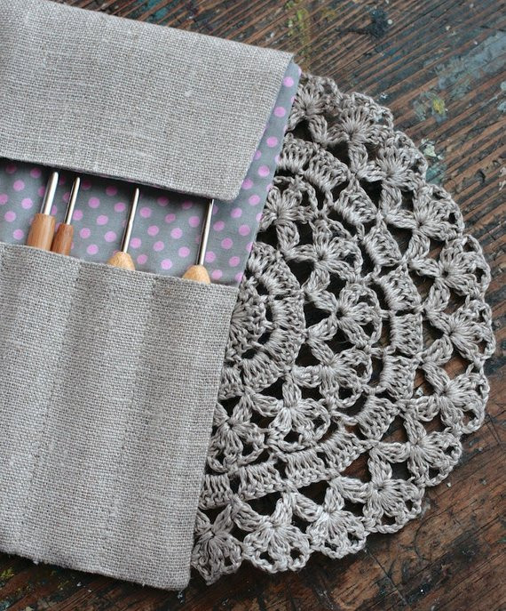 Crochet Hook organizer Unique Linen Crochet Hook Case Holder organizer Of Brilliant 43 Photos Crochet Hook organizer