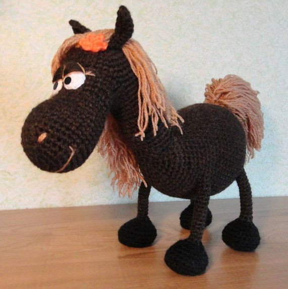 Crochet Horse Elegant 17 Best Images About Crochet Knit Cow Horse Donkey On Of Perfect 47 Pics Crochet Horse