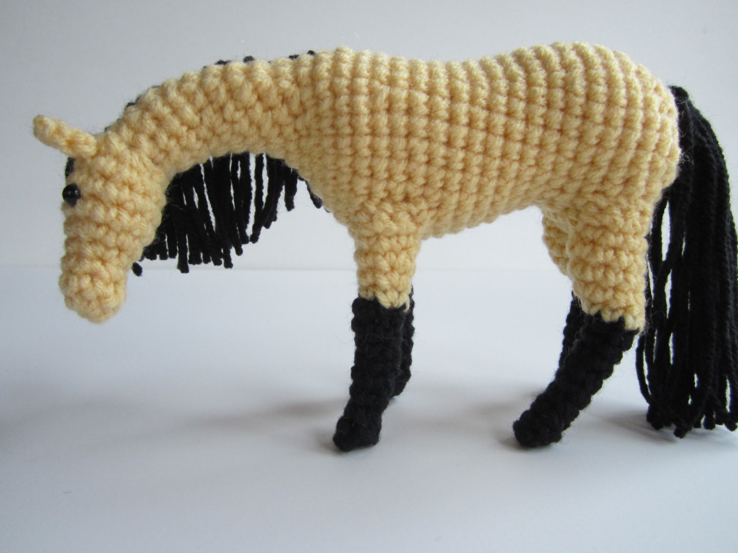 pdf crochet horse pattern with