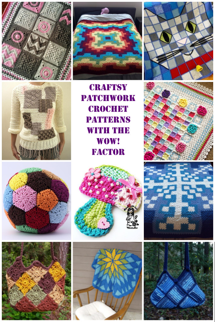 Crochet Ideas Lovely 12 Wow Worthy Patchwork Crochet Patterns Of Brilliant 40 Pictures Crochet Ideas