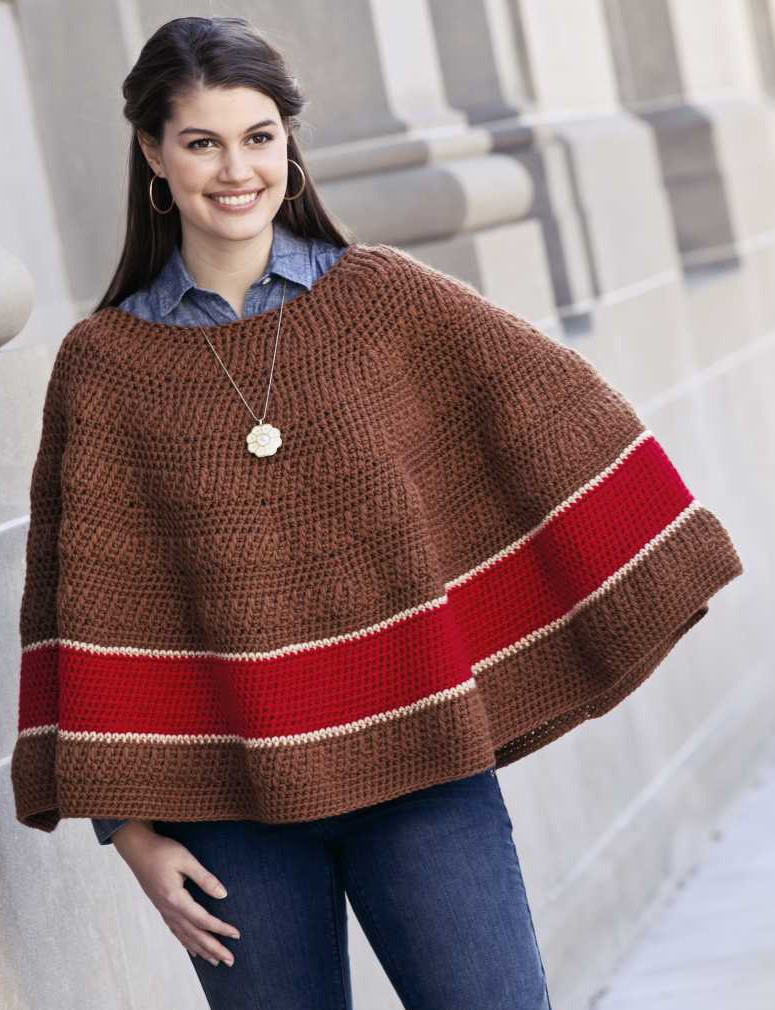 Crochet In the Round Fresh Crochet Ponchos Of Marvelous 44 Photos Crochet In the Round