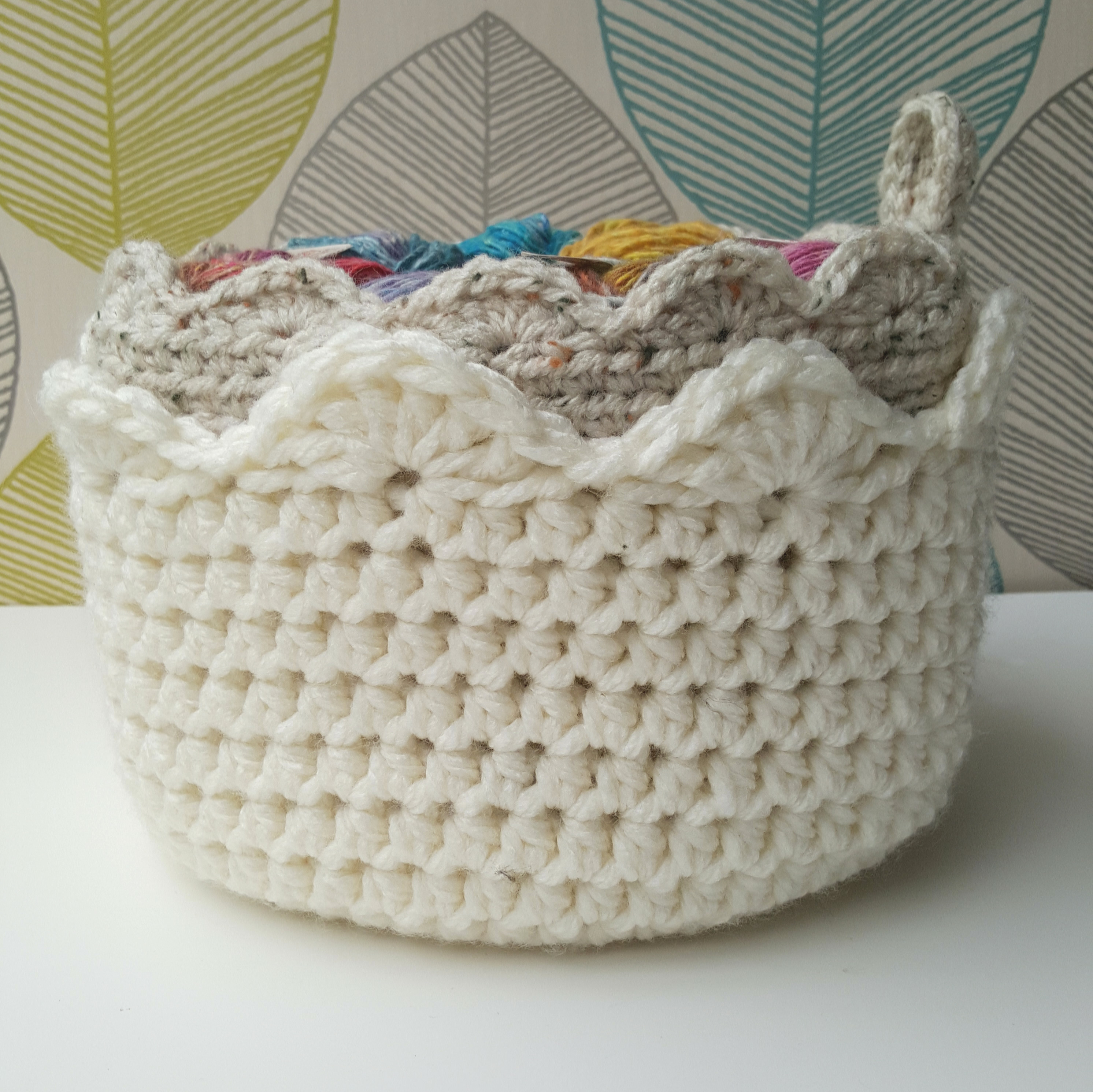 How to Crochet a Basket FREE Tutorial & Pattern