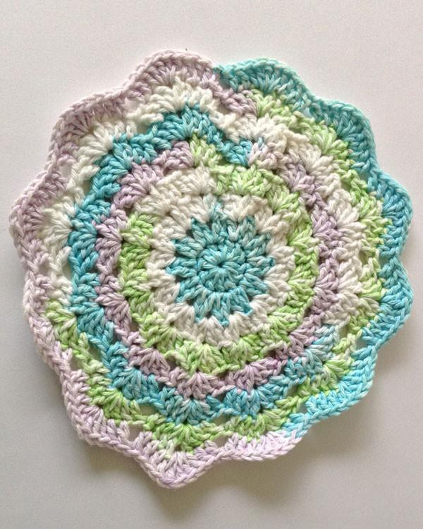 Crochet In the Round Unique Dishcloths In the Round Crochet Pattern Set – Maggie S Crochet Of Marvelous 44 Photos Crochet In the Round