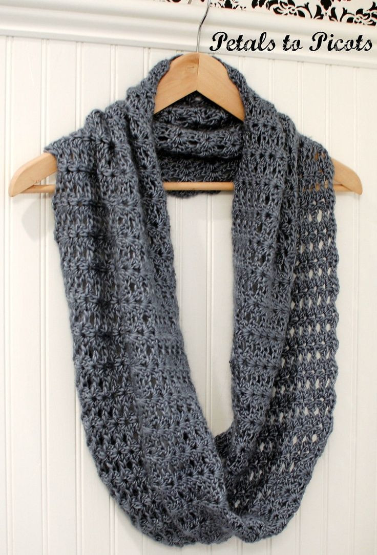 infinity scarf crochet pattern for beginners Crochet and