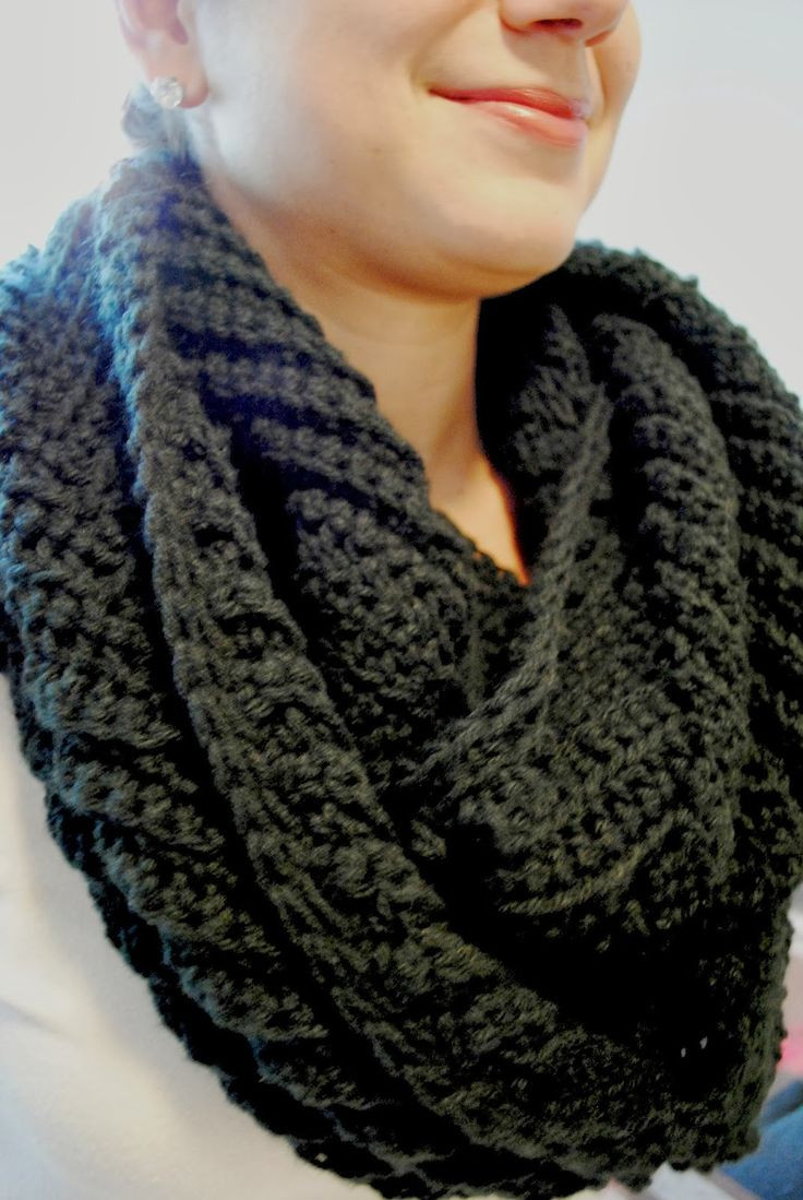 Crochet Infinity Scarves Awesome 17 Best Images About Super Chunky Cowls On Pinterest Of New 44 Photos Crochet Infinity Scarves