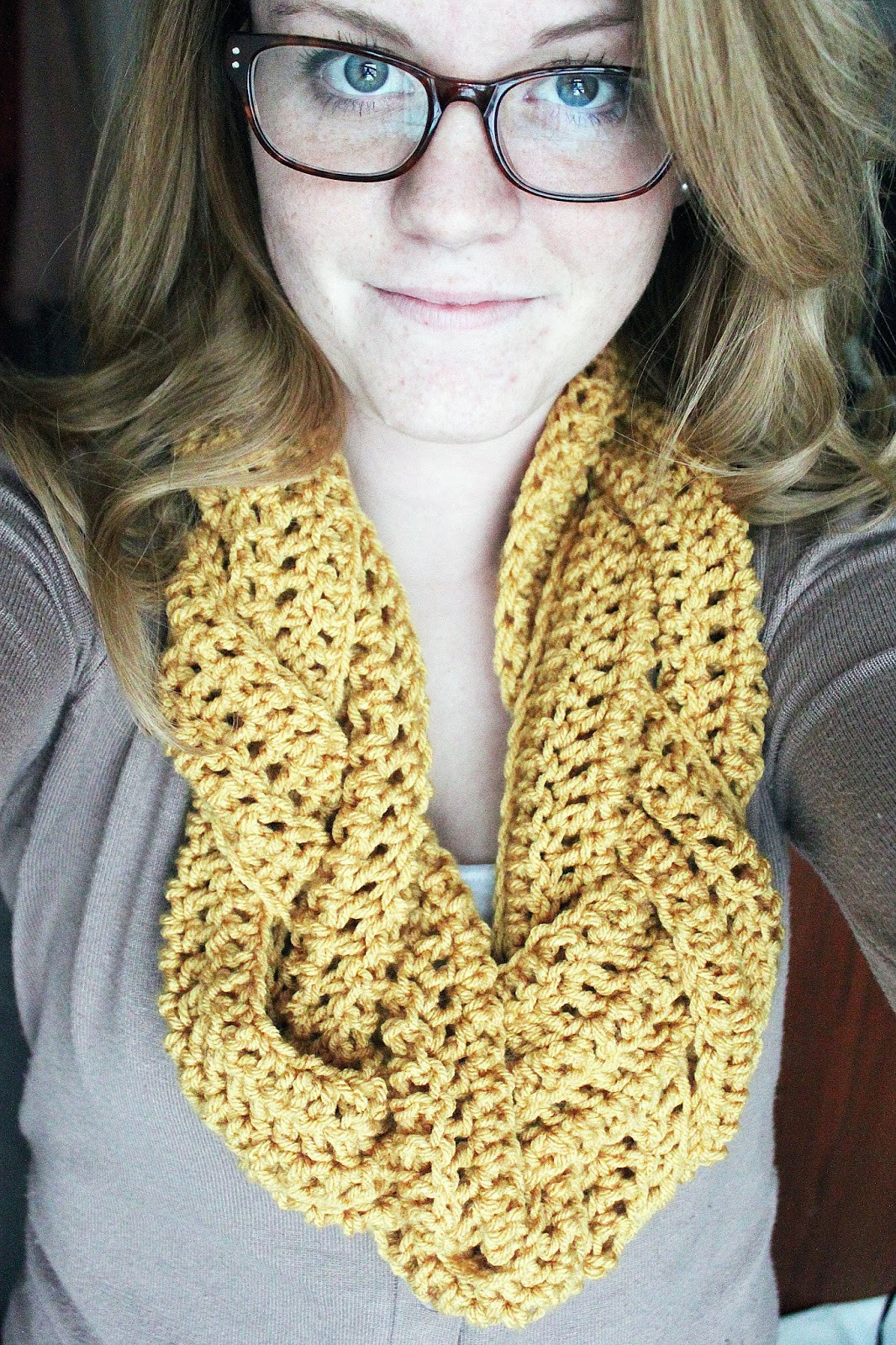 Crochet Infinity Scarves Luxury Rookie Crafter Braided Crocheted Scarf Of New 44 Photos Crochet Infinity Scarves