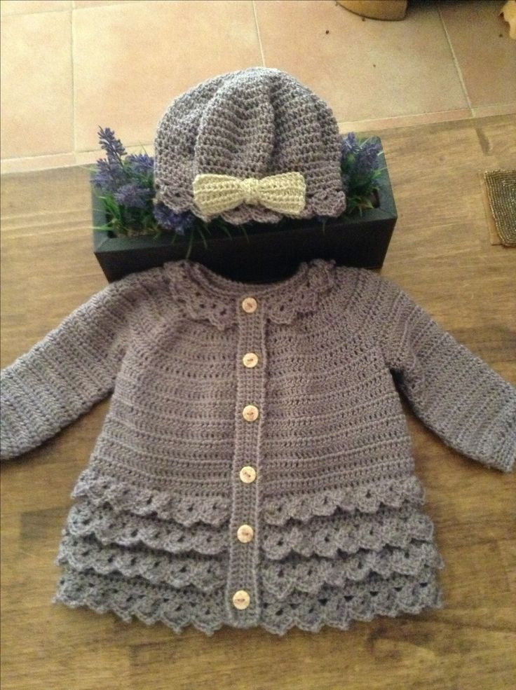 Crochet Jacket Best Of 955 Best Images About Crochet Baby Sweater Sets & Jackets Of Charming 45 Pictures Crochet Jacket
