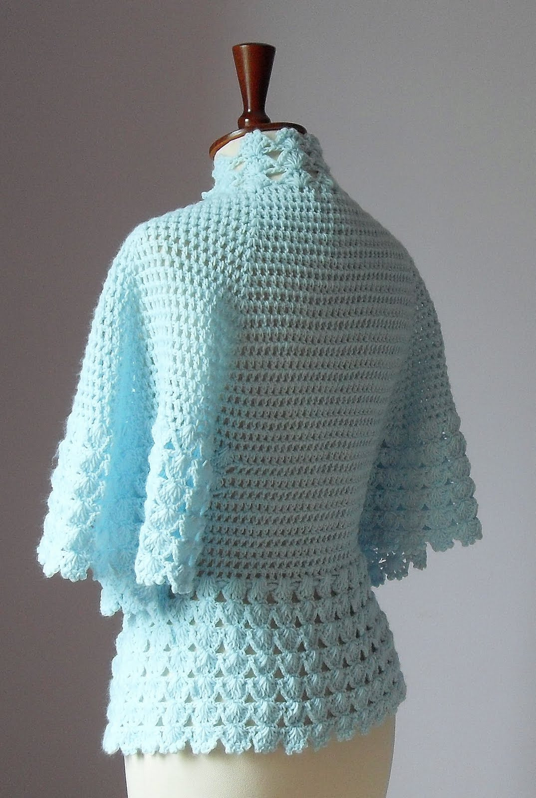Crochet Jacket Luxury Silvia66 Crocheted Bed Jacket or Light Cardigan Of Charming 45 Pictures Crochet Jacket