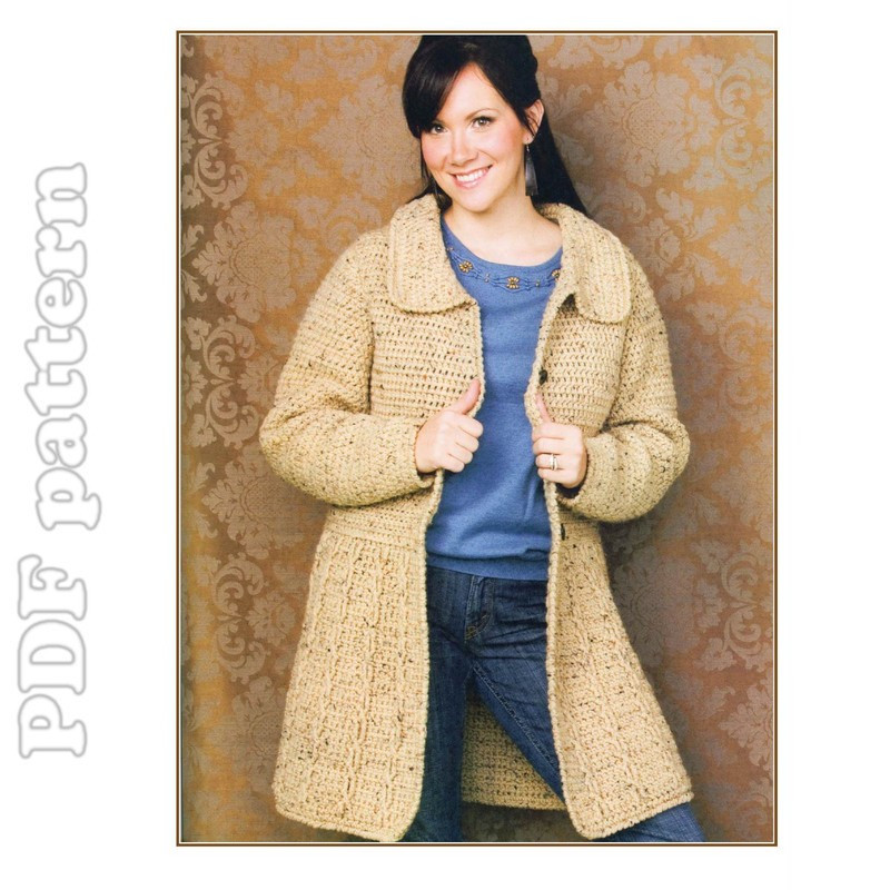 Crochet Jacket Pattern Awesome Crocheted ornament Jacket Patterns Crochet and Knitting Of Unique 40 Ideas Crochet Jacket Pattern