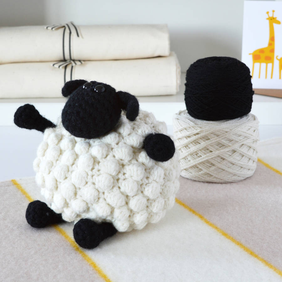 Crochet Kit Awesome Luxury Bobble Sheep Crochet Kit by Warm Pixie Diy Of Amazing 48 Pictures Crochet Kit