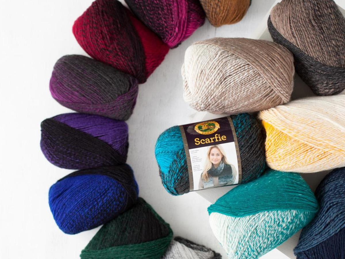Crochet Kits with Yarn Awesome Lion Brand Scarfie Yarn Of Wonderful 47 Images Crochet Kits with Yarn