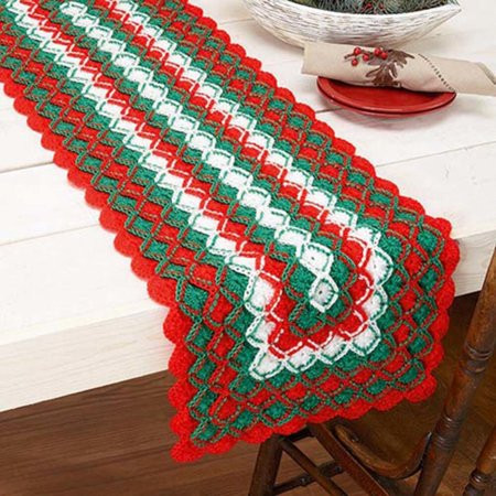 Crochet Kits with Yarn Unique Herrschners Holiday Cheer Table Runner Crochet Yarn Kit Of Wonderful 47 Images Crochet Kits with Yarn