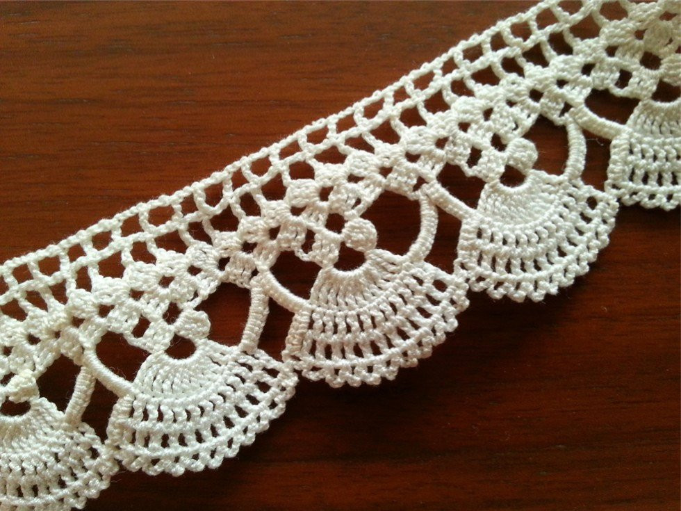 Crochet Lace Edging Beautiful Vintage Lace Edge Crocheted Cotton Trim Crochet Lace Trim Of Charming 48 Images Crochet Lace Edging