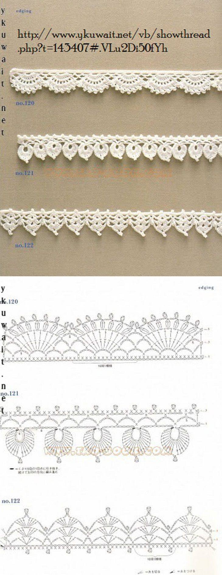 Crochet Lace Edging …