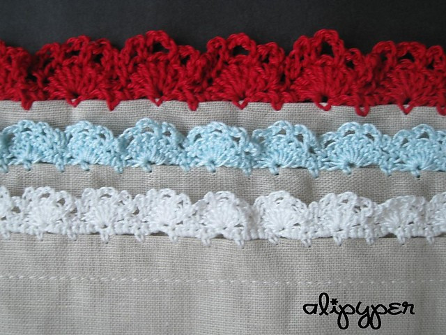 [Free Pattern] 20 Beautiful Crochet Edging Patterns