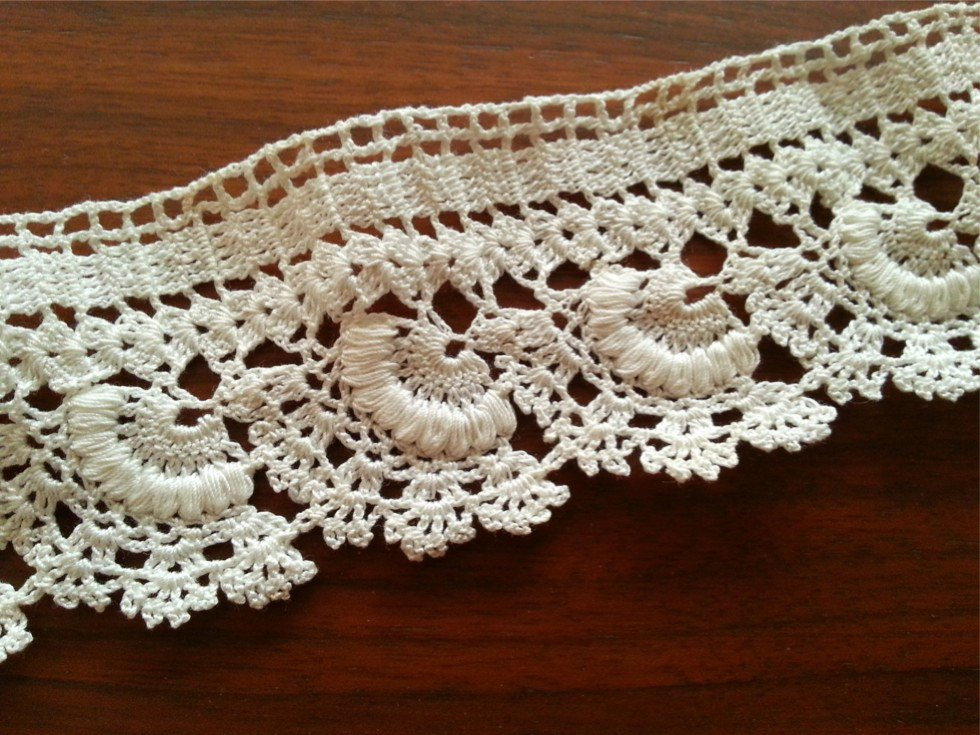 Crochet Lace Edging Inspirational Vintage Lace Edge Crocheted Cotton Trim Crochet Lace Trimhome Of Charming 48 Images Crochet Lace Edging