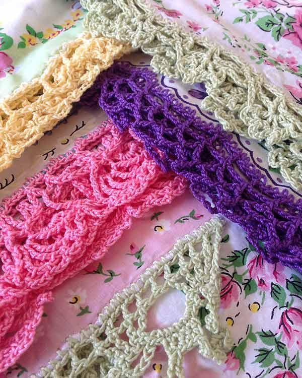 Crochet Lace Edging Unique Lace Edgings Crochet Pattern – Maggie S Crochet Of Charming 48 Images Crochet Lace Edging