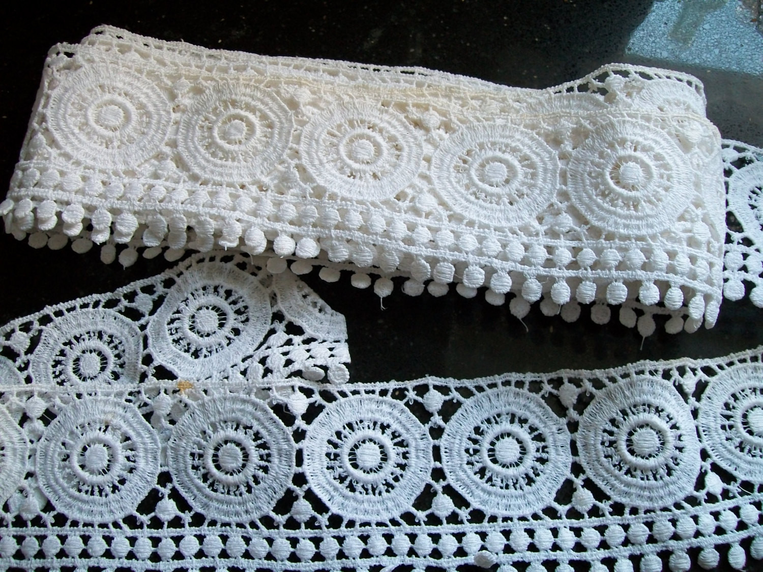 Crochet Lace Edging Unique Vintage White Lace Edging Wide Crochet Lace Trim by Msink Of Charming 48 Images Crochet Lace Edging