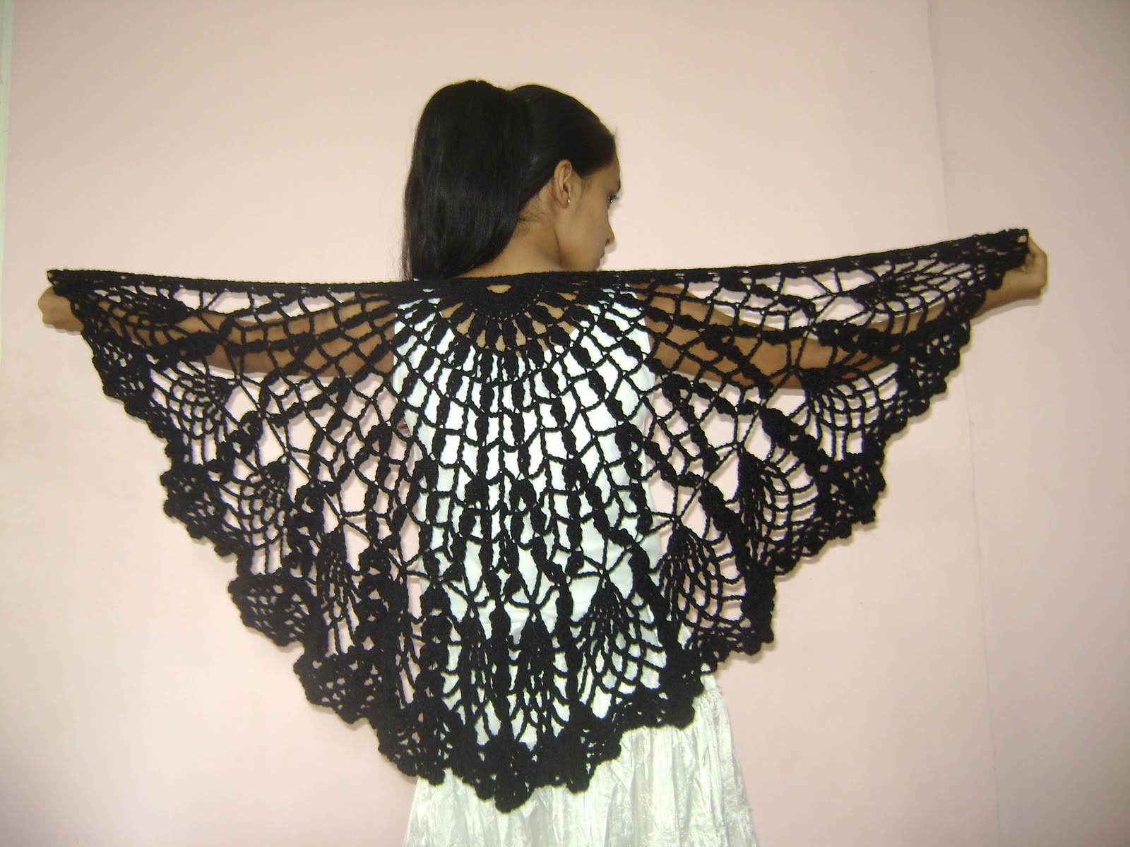 Crochet Lace Pattern Elegant Free Crocheted Shawl Patterns Of Gorgeous 50 Photos Crochet Lace Pattern