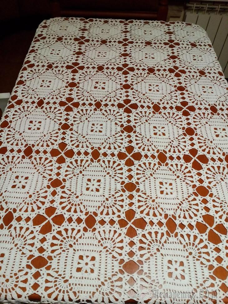 Crochet Tablecloths ⋆ Crochet Kingdom 17 free crochet