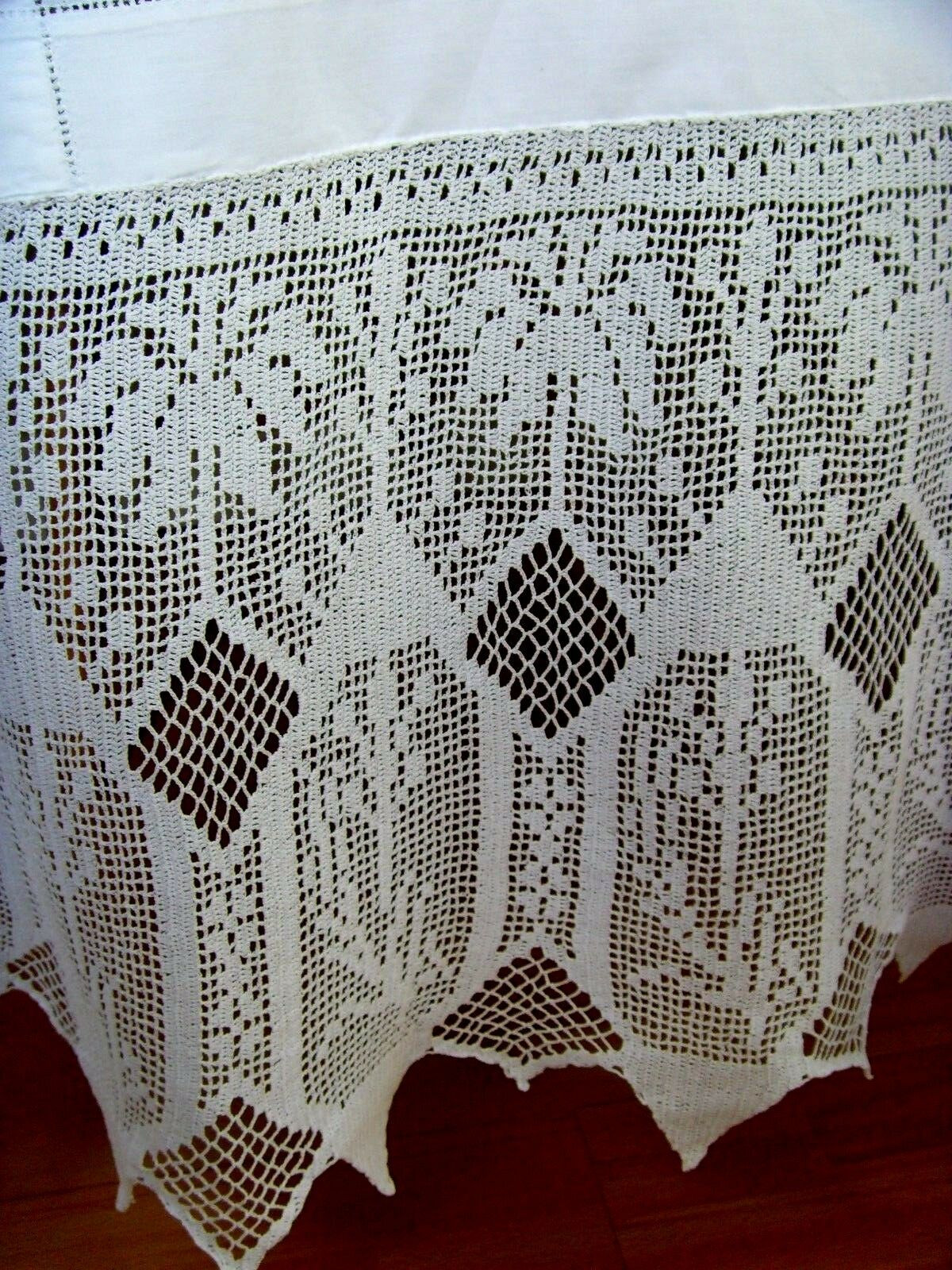 Crochet Lace Tablecloth Awesome Vintage Hand Crochet Lace Embroidered Tablecloth White Of Unique 41 Models Crochet Lace Tablecloth
