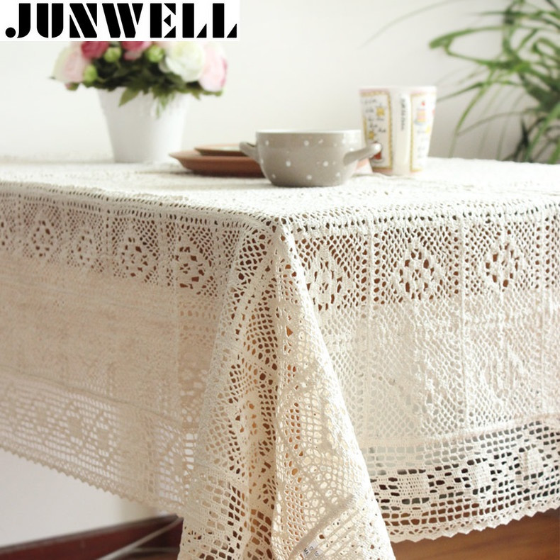 Crochet Lace Tablecloth Beautiful Line Buy wholesale Crochet Lace Tablecloths From China Of Unique 41 Models Crochet Lace Tablecloth