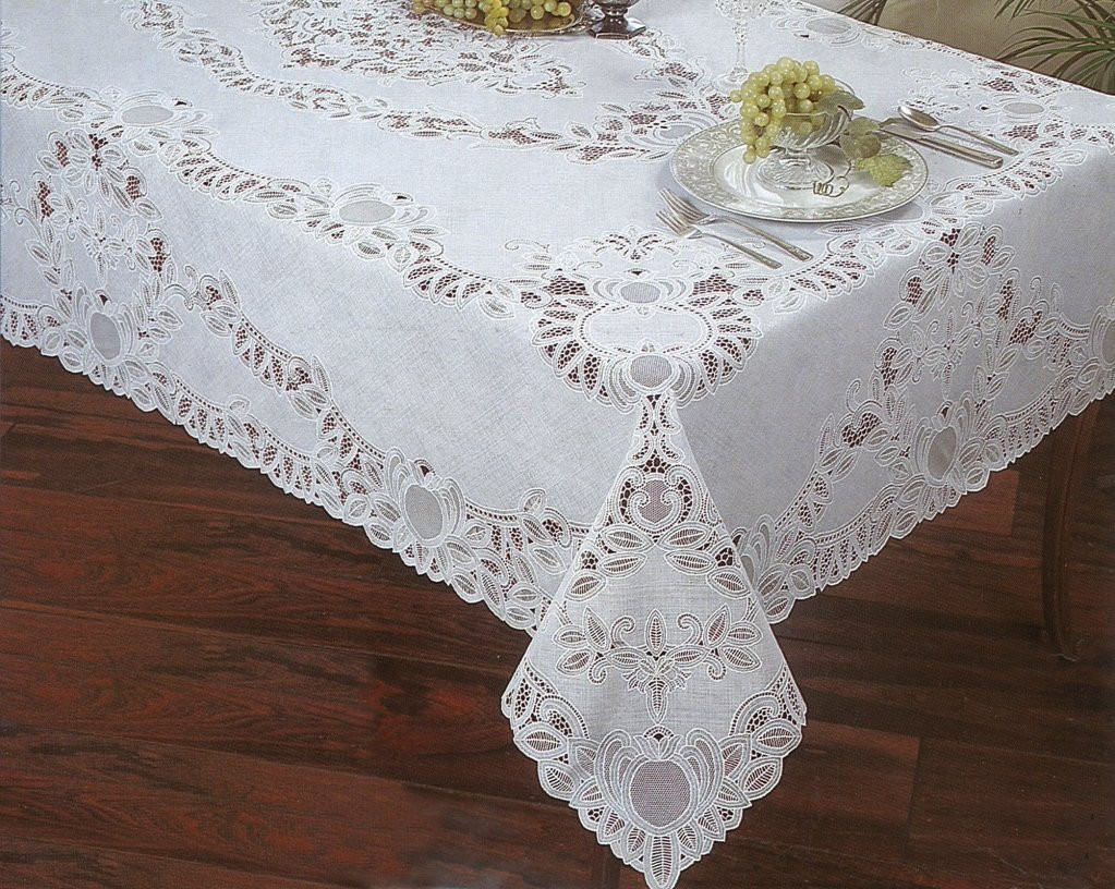 Crochet Lace Tablecloth Inspirational Crochet Lace Vinyl Tablecloth 60 Inch by 104 Inch Oblong Of Unique 41 Models Crochet Lace Tablecloth