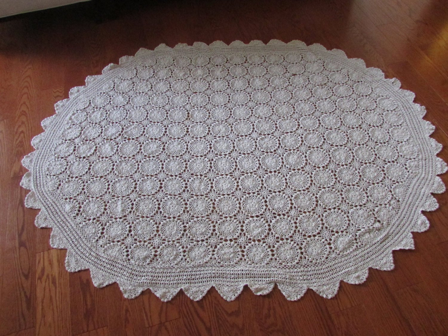 Crochet Lace Tablecloth Inspirational Vintage Oval Crocheted Lace Tablecloth Vintage Crochet Of Unique 41 Models Crochet Lace Tablecloth