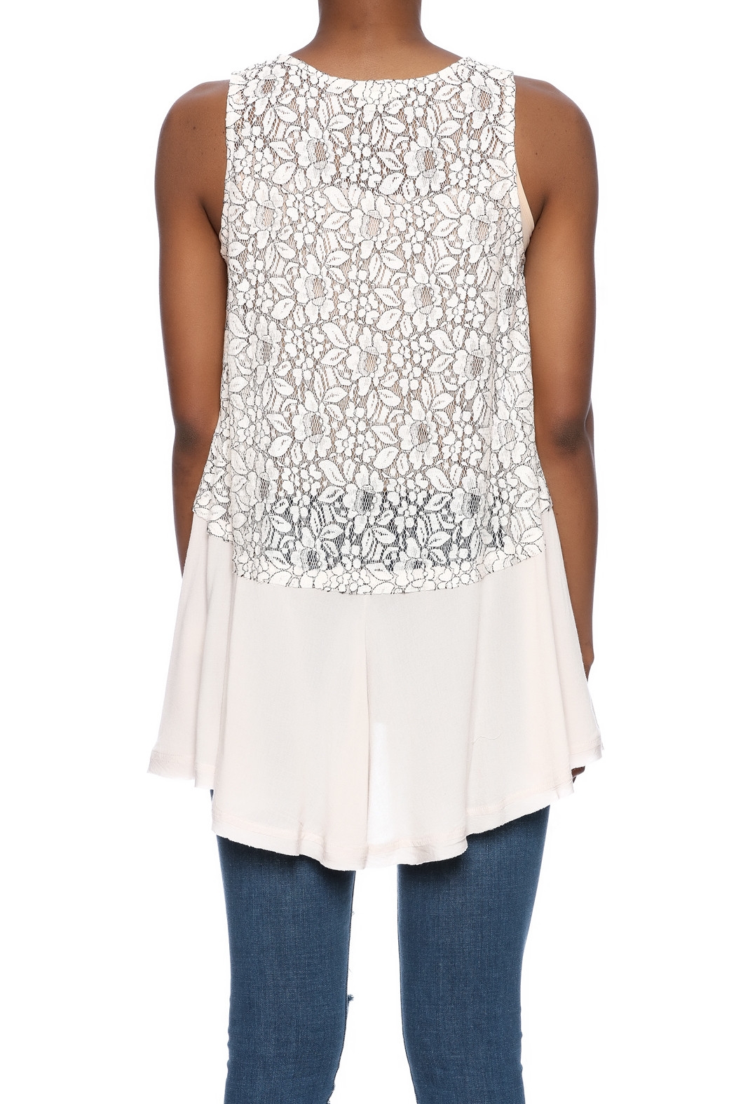 Mystree Crochet Lace Tank from Indiana by Posh Vincennes