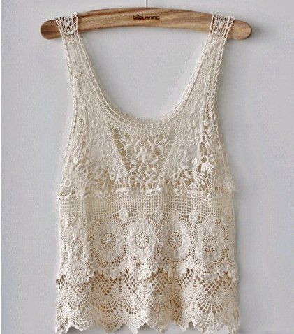 Crochet Lace Tank top New 142 Best Crochet Tank tops Images On Pinterest Of Incredible 41 Images Crochet Lace Tank top