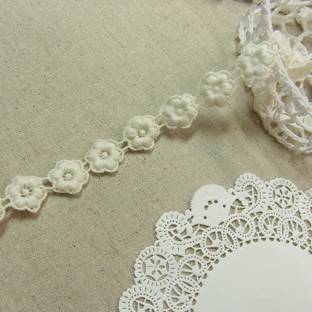 Crochet Lace Trimming Awesome 1yd Antique St Scalloped Embroidery Cotton Crochet Lace Of Superb 50 Pics Crochet Lace Trimming