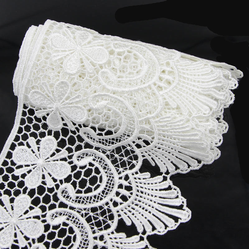 Crochet Lace Trimming Awesome 2 Yds Wide Fabric Crochet Lace Trim Sewing Trimming Edge Of Superb 50 Pics Crochet Lace Trimming