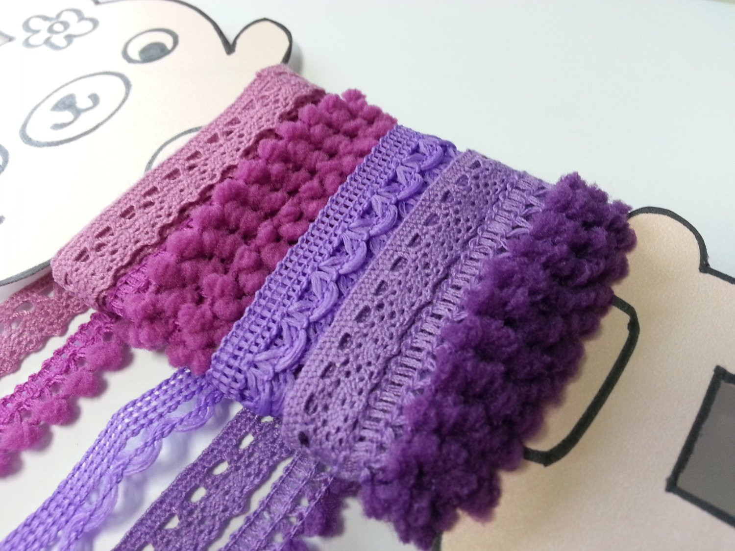 Crochet Lace Trimming Inspirational 5 Yards Purple Violet Trims Lace Trim Crochet Lace Trim Of Superb 50 Pics Crochet Lace Trimming