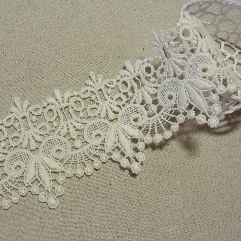 Crochet Lace Trimming Lovely 1yd Antique St Scalloped Embroidery Cotton Fabric Crochet Of Superb 50 Pics Crochet Lace Trimming