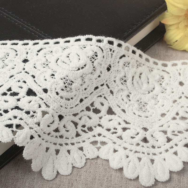 Crochet Lace Trimming Lovely 9cm Thick High Quality Cotton Lace Embroidery soluble Of Superb 50 Pics Crochet Lace Trimming