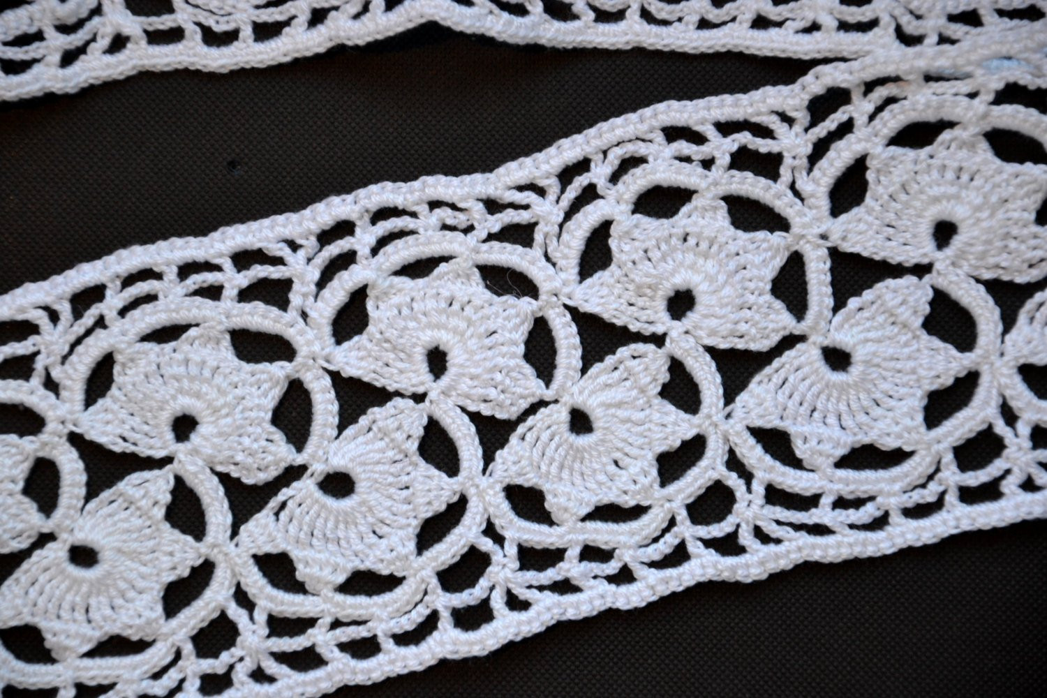 Crochet Lace Trimming New Hand Crocheted Lace Trim Vintage Supply Wide Crochet Lace Of Superb 50 Pics Crochet Lace Trimming