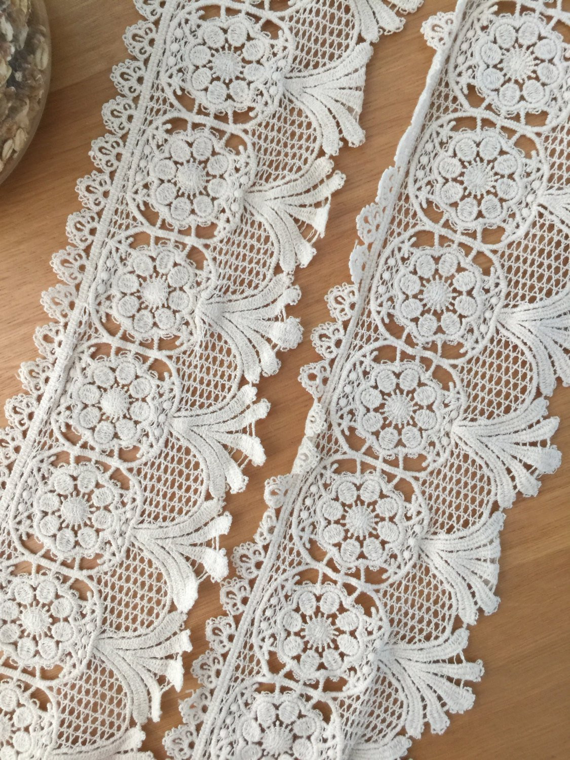 Crochet Lace Trimming New Vintage Style Cotton Lace Trim In Beige Crochet Lace Trim Of Superb 50 Pics Crochet Lace Trimming