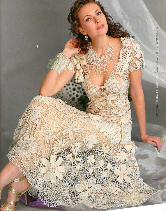 Crochet Lace Wedding Dress Awesome 8 Crochet Wedding Dresses You Can Make Yourself My Life Of Great 48 Ideas Crochet Lace Wedding Dress