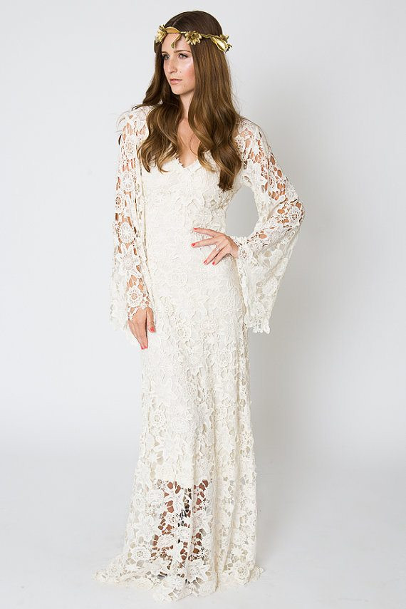 Crochet Lace Wedding Dress Beautiful Team Wedding Blog Wedding Gowns with Bohemian Vibes Of Great 48 Ideas Crochet Lace Wedding Dress