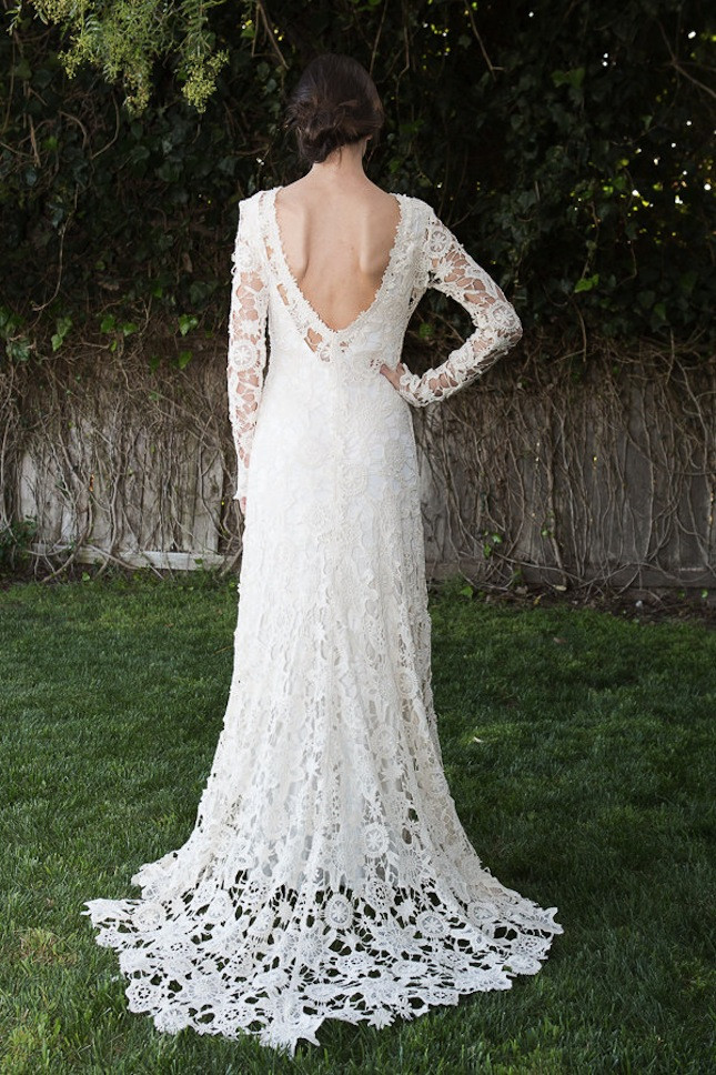 Crochet Lace Wedding Dress Unique 15 Wedding Dresses You Won't Believe are Crocheted Of Great 48 Ideas Crochet Lace Wedding Dress