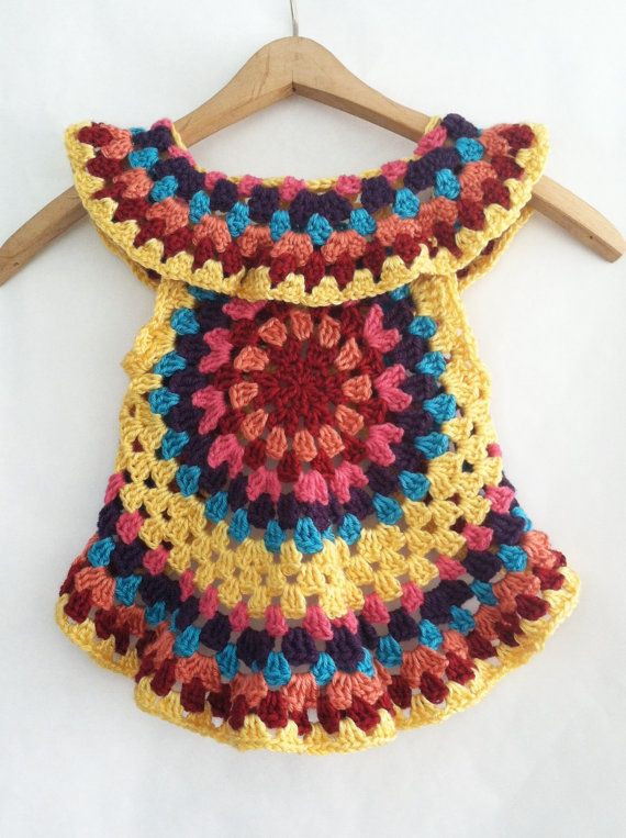 Crochet Mandala Vest Beautiful Crochet Pattern for toddler Mandala Vest Girls Of Attractive 50 Pics Crochet Mandala Vest