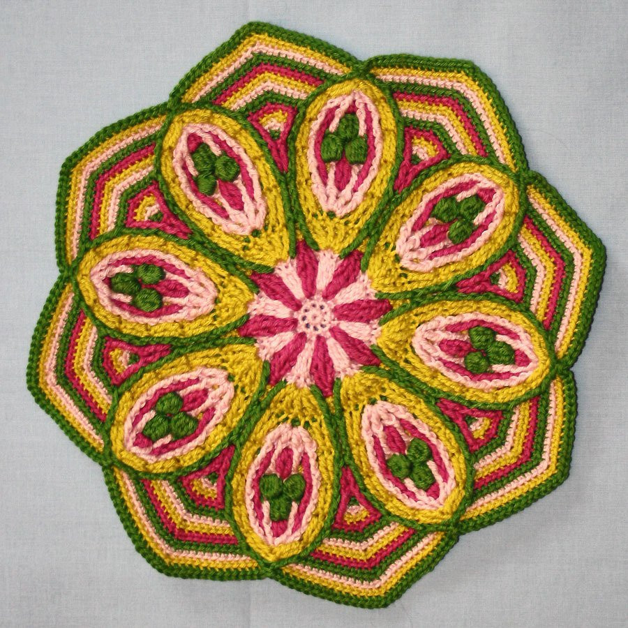 Crochet Mandalas Awesome Mandala No 2 Overlay Crochet Pattern Pdf Of Incredible 41 Pics Crochet Mandalas