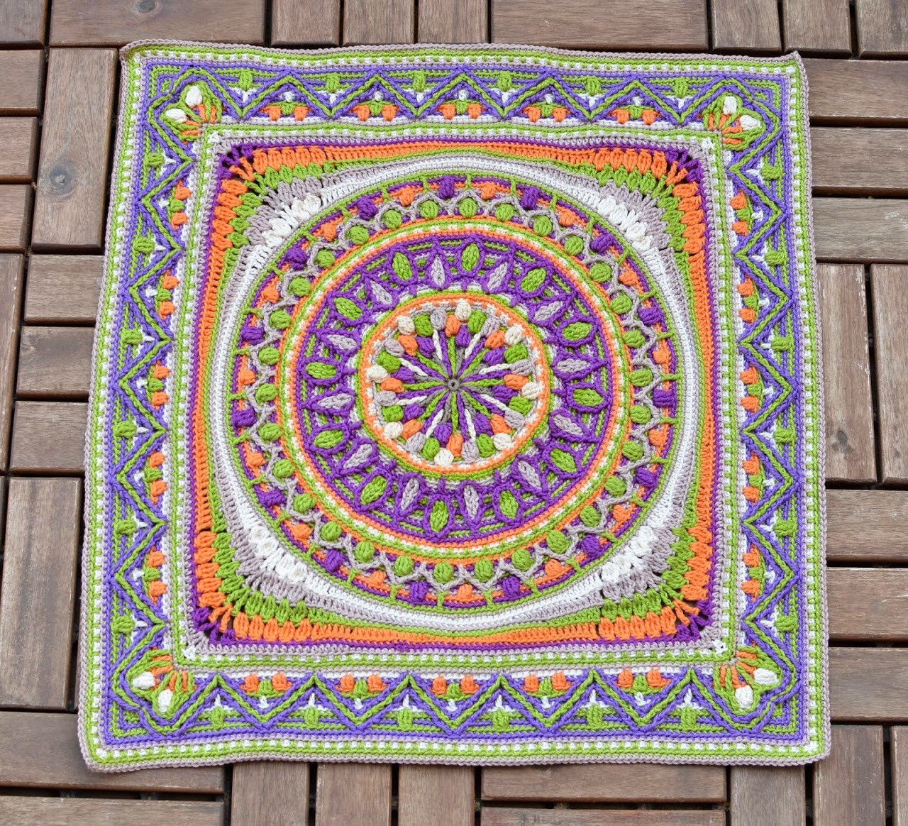 Crochet Mandalas Best Of Crochet Squares or Second Life Of Dandelion Mandala Of Incredible 41 Pics Crochet Mandalas