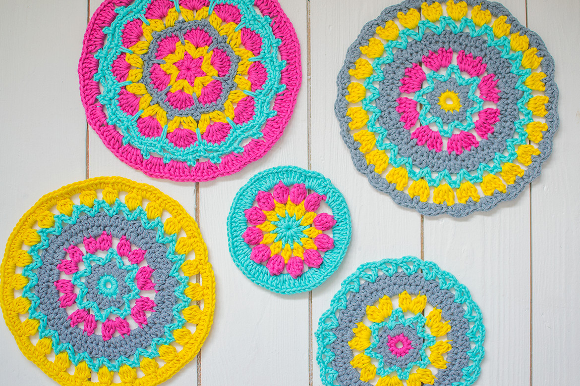 Crochet Mandalas Elegant Crochet Mandala Window Blind Simple and Colorful Of Incredible 41 Pics Crochet Mandalas