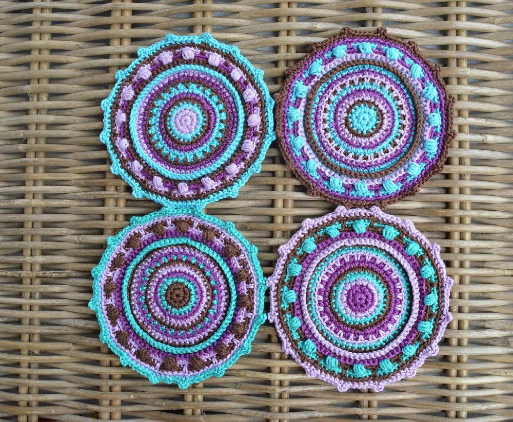 Crochet Mandalas Fresh We Love Mandala Stashbusters • Lovecrochet Blog Of Incredible 41 Pics Crochet Mandalas