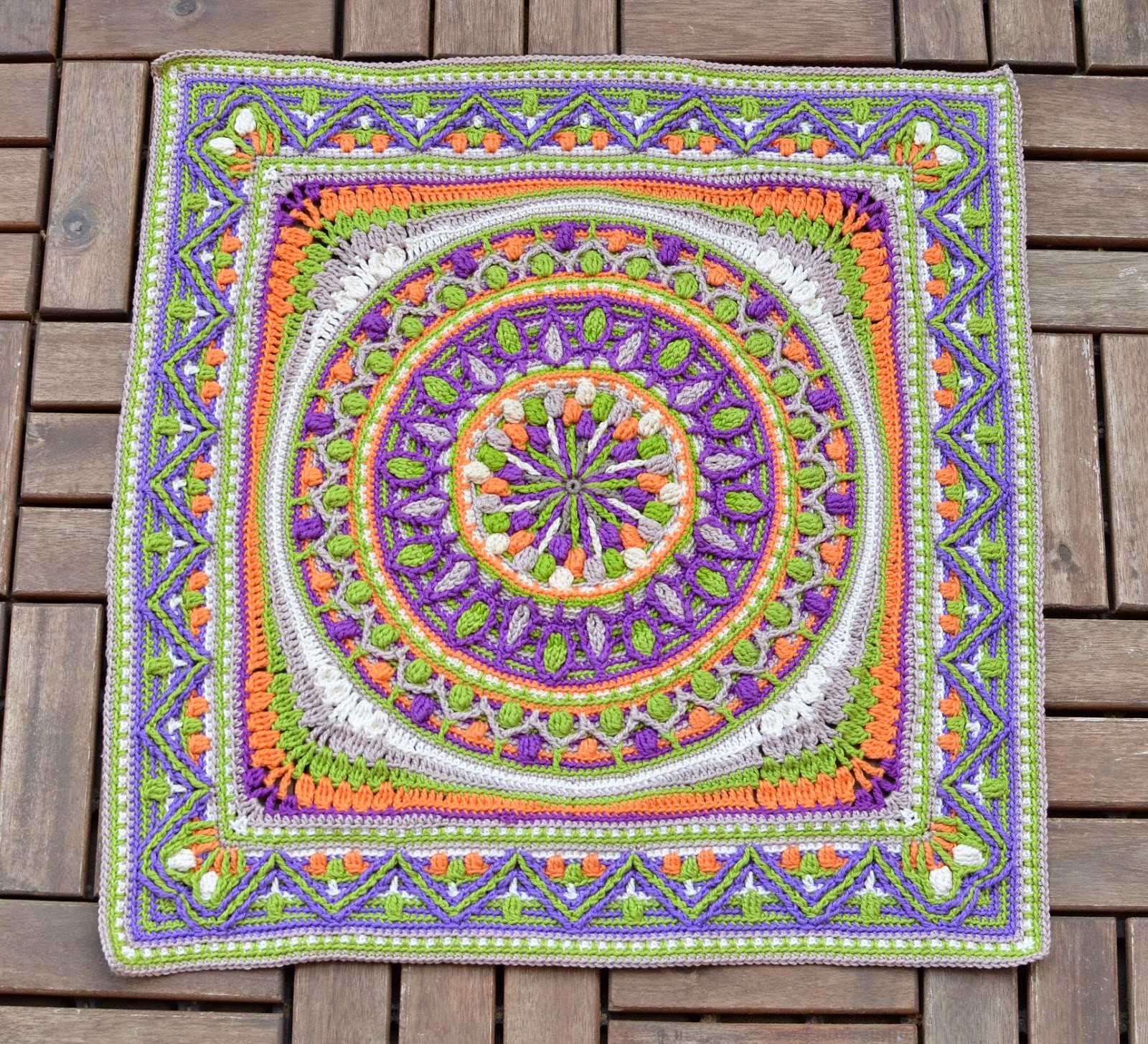 Crochet Mandalas Inspirational Crochet Squares or Second Life Of Dandelion Mandala Of Incredible 41 Pics Crochet Mandalas