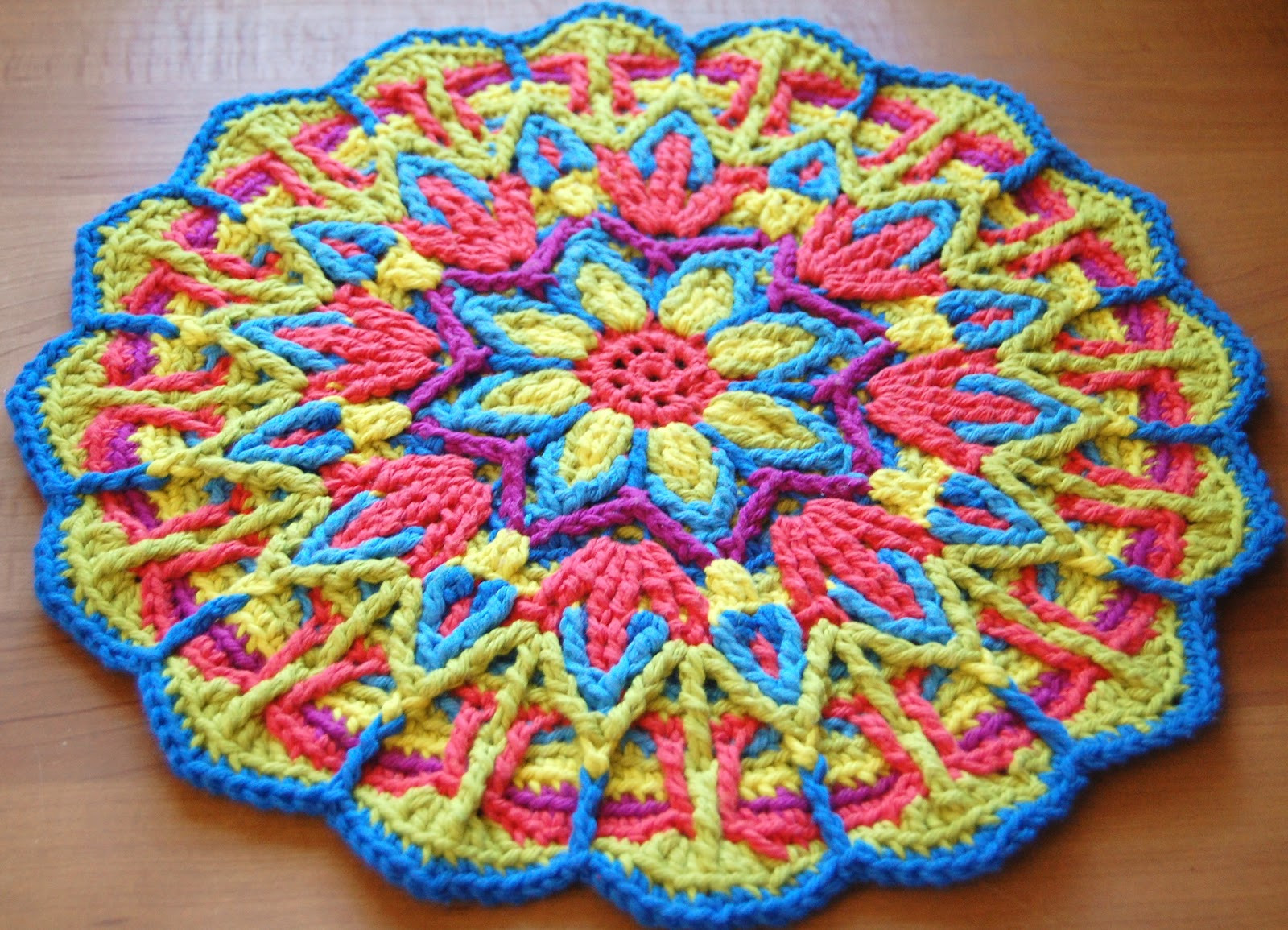 Crochet Mandalas Lovely Overlay Crochet Mandala Cal Of Incredible 41 Pics Crochet Mandalas